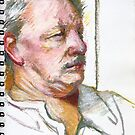 Portrait Sketch I  by Cameron Hampton
