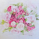 Pretty Pink Bouquet by Patsy Smiles
