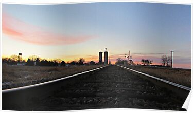 Prairie Rails by Greg Belfrage