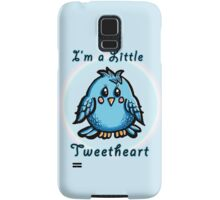 I'm a little TweetHeart Samsung Galaxy Case/Skin