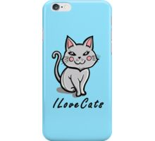 I Love Cats iPhone Case/Skin