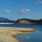Lake Koocanusa , Montana by Claudio Del Luongo