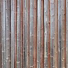 Old plank barn wall by Kristian Tuhkanen