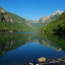 Beautiful Lake McDonald, Montana by Claudio Del Luongo