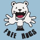 Polar Bear: Free hugs by vivendulies