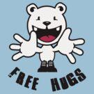 Polar Bear: Free hugs by vivendulies