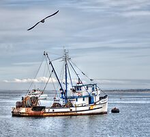 The Old Fishing Boat by Diego  Re