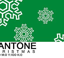Pantone Christmas - Green by khuship
