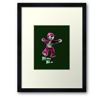 Breaking Bad Teddy Bear Framed Print
