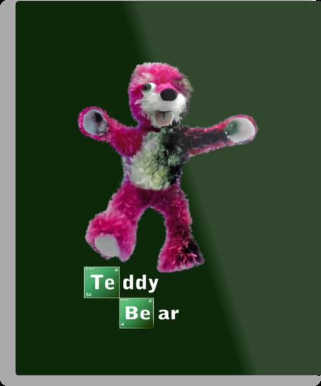 Breaking Bad Teddy Bear by Paul Gitto