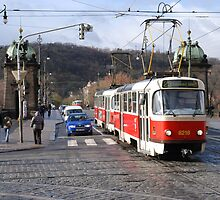 Prague Tram by CPProPhoto