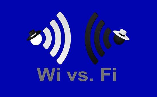 Wi vs. Fi by Paul Gitto