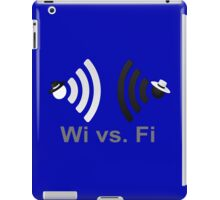 Wi vs. Fi iPad Case/Skin
