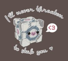 Weighted Companion Cube by cuteincarnate