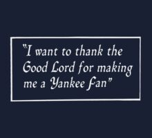 Yankee Fan by Paul Gitto