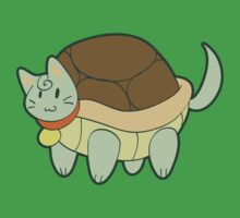 Green Cat Turtle by SaradaBoru