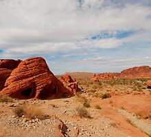 Red Rocks Landscape by Alinta T. Giuca