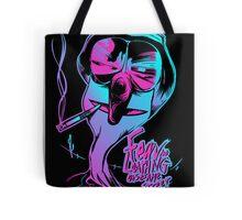 Fear & Loathing on Sesame Street Tote Bag