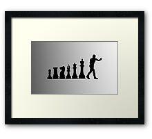 Chess Boxing Framed Print