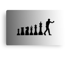 Chess Boxing Canvas Print