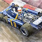Tyrrell Ford Elf P34 F1 1976 Monaco GP Jody Scheckter by Yuriy Shevchuk