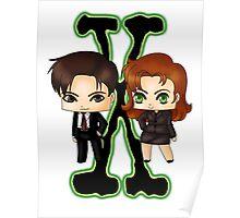 Chibi X Files Poster