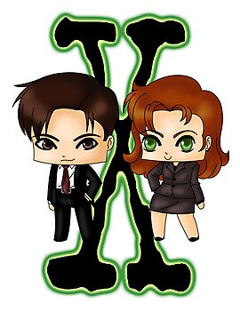 Chibi X Files by artwaste