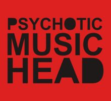 Psychotic Music Head by Imogen de la Motte