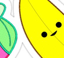 Banana & Strawberry Sticker
