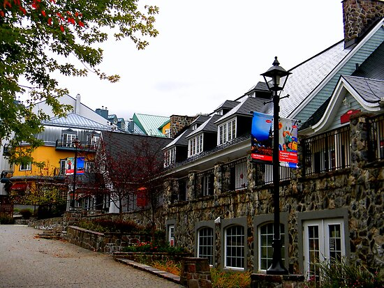 Mont Tremblant Village ! by Elfriede Fulda