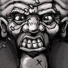 One Angry Face by Craig Bruyn