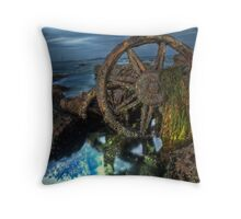 Rocky Remains Throw Pillow