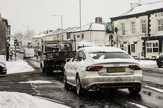 Audi In The Snow by AndrewBerry