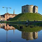 Clifford's Tower, York, in Flood by GrahamCSmith