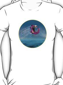 Mad Pink Fish Crazy Jump T-Shirt