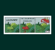 LEONARD the color-blind chameleon by Southclan