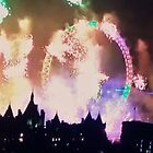 London Fireworks by Sarah Howlett