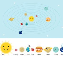 Solar System by Holly Hatam