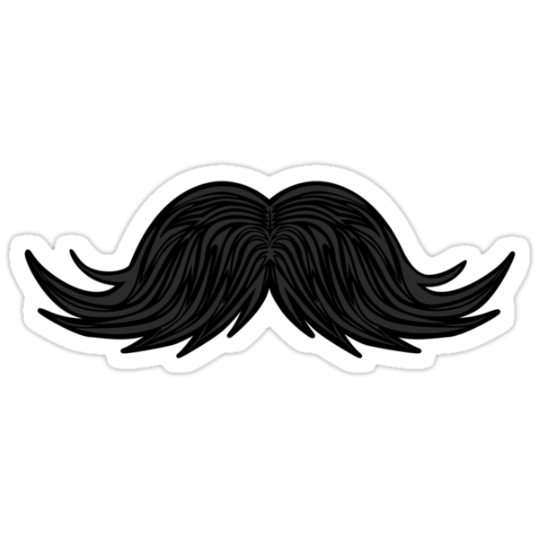 Moustache sticker 2 by Siegeworks .