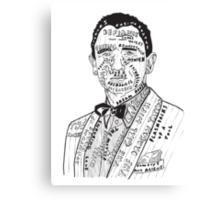 Daniel Craig Filmography Canvas Print