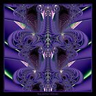Royal Backbone Fractal by Rose Santuci-Sofranko