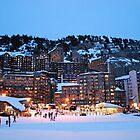Alpine Nightfall by feef