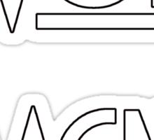 Wolf Magnet Sticker
