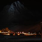 Grand Motte at night by feef
