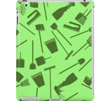 cleaning seamless pattern iPad Case/Skin