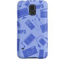 media seamless pattern Samsung Galaxy Case/Skin