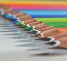 Colouring Pencils :) by Elinor Barnes