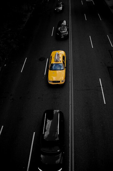 New York Traffic by Dan Wilson