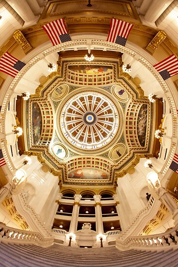 Pennsylvania State Capitol – Rotunda by Mark Van Scyoc