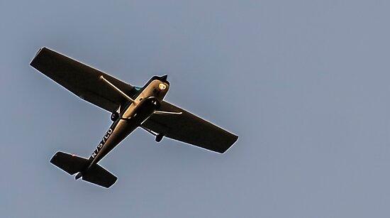 Cessna at Dusk by heatherfriedman